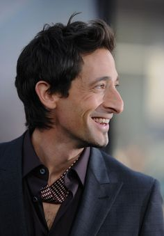 Adrien Brody. I cannot get enough of this man and his sexy awesome nose.