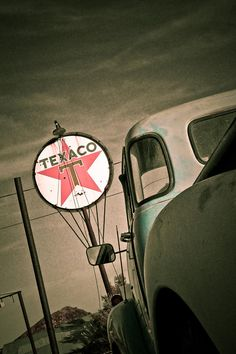 Texaco Photograph by Merrick Imagery - Texaco Fine Art Prints and Posters for Sale