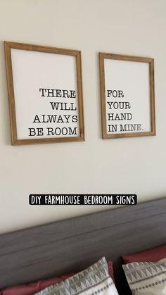 Home Decor Signs, Diy Signs, Diy Wall Decor, Signs For Home, Man Home Decor, Farmhouse Wall Decor, Rustic Decor, Farmhouse Bedrooms, Farmhouse Signs