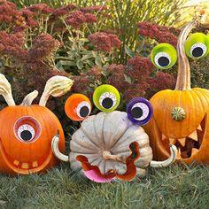 Pumpkins monsters
