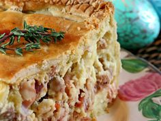 "Made this version last Easter, By far the closest recipe to what Grandma Mandarino made. My husbands grandmother calls this ""fragone"". Other Italians call it Pizza Rustica, and yet others call it Italian Easter Pie. My family calls it YUM! Pizza Rustica, Italian Dishes, Italian Recipes, Italian Cooking, Italian Foods, French Recipes, Italian Desserts, Easter Recipes, Holiday Recipes"