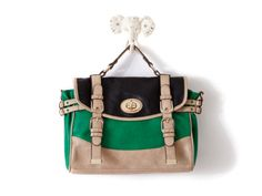 Karlie Colorblock Satchel by Melie Bianco from Elise Loehnen on OpenSky