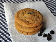 Chewy Peanut Butter Chocolate Chip Cookies Recipe on Yummly
