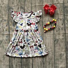 d6bf290520ef Girls Disney Flutter Dress Accessories Minnie Mouse – My Cutie Pye Boutique