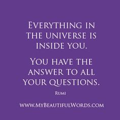 My Beautiful Words.: You Have the Answers...