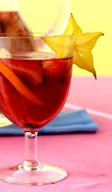 """super fruity sangria - wonder which sangria recipe I have """"pinned"""" is the best?"""
