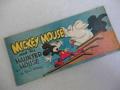 Walt Disney #Comic Book 1947 #MickeyMouse Haunted House W4 Cheerio Cereal Premium