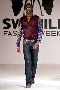 Swahili Fashion Week Spring/Summer 2013 [Day 1] : Annesophie Achera | Haute Fashion Africa #AfricanKing #AfricanPrints  #AfricanStyle #AfricanInspired #StyleAfrica #AfricanBeauty #AfricanFashion