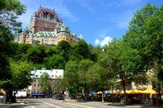 A list of absolute must-sees, can't miss things to do in Old Quebec from the painfully obvious Château Frontenac to lesser known attractions locals love. Old Quebec, Quebec City, Canada Cruise, Canada Trip, Quebec Winter, Charlevoix, Saint Laurent, Canadian Travel, Canadian Rockies