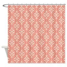 Lovely Soft Damask Shower Curtain