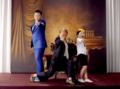 Korean rapper PSY has a new music video that's even better than 'Gangnam Style'?
