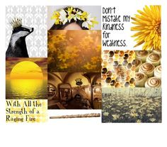 Hufflepuff Aesthetic by meranda-joi on Polyvore featuring art, harrypotter, hogwarts, Hufflepuff and aesthetic
