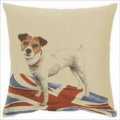 Jack Russell Cushion Adorabella