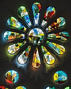 Sagrada Família (Basilica of the Holy Family) - Rose window