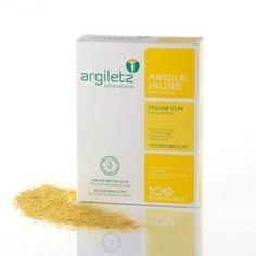 Argile jaune ultra ventilée 200g Argiletz | Acheter sur Greenweez.com