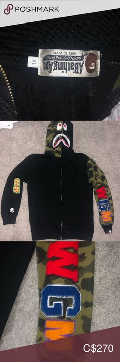 Bape sweater Great condition 10/10 Fits medium Bape Jackets & Coats Lightweight & Shirt Jackets