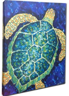 Sea Turtle Art Print Giclee