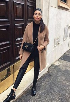Casual Fall Outfits That Will Make You Look Cool – Fashion, Home decorating Cute Spring Outfits, Simple Outfits, Pretty Outfits, Stylish Outfits, Beautiful Outfits, Winter Outfits, Black Outfits, Holiday Outfits, Winter Clothes