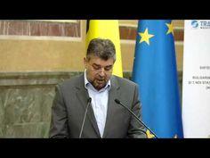 VIDEO – Vezi ce a spus vicepremierul Marcel Ciolacu la semnarea contractului BRUA – transport gaze naturale intre Bulgaria – Romania-Ungaria si Austria