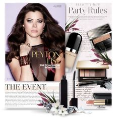 A beauty collage from November 2015 by thewondersoffashion featuring beauty, Burberry, Lancôme, Vincent Longo, Serge Lutens, Marc Jacobs, Clarins e Gorgeous Co...