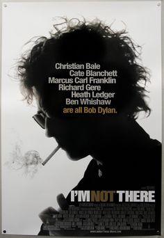 I'm Not There film, cate blanchett, christian bale, bob dylan, poster, ben whishaw, richard gere, movi, heath ledger