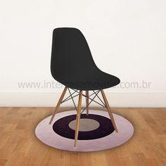 Cadeira Eames DSW Preta