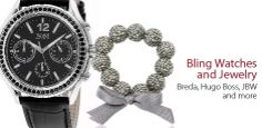 Bling Watches -                                                                        Ladies' Tornabuoni Watch in Brown                                 Ladies' G-Timeless Diamond Watch in Silver                                 Ladies' 5505 Series Watch in Black                           ...  #Bangle, #Bordered, #ChronographWatch, #Clock, #Diamond, #Dress, #PostBack, #Rhinestone, #Sapphire, #Shirt, #Tshirt