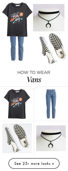 """Untitled #48"" by imtakingbackthecrown on Polyvore featuring Vans"