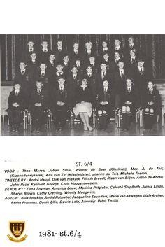 St.6/4 Hoërskool Wesvalia 1981 Beer, Movies, Movie Posters, Art, Root Beer, Art Background, Ale, Films, Film Poster