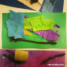Mark Rothko - Kindergarten - Cool Colors/Warm colors