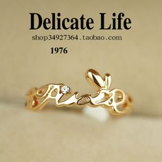 Dream constellation letter ring female finger ring accessories jewelry day gift a2601 on AliExpress.com. $12.84