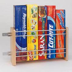 Rev-a-Shelf Vertical Foil Rack - Kitchen Cabinet Organizers at Hayneedle