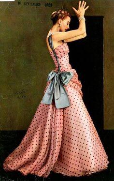 Dress by Alix Grès, 1953