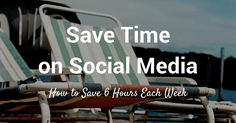 save time on social media