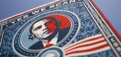 """""""Yes we scan"""" – so dichteten Demonstranten bereits im Sommer 2013 den berühmten Ausspruch des US-Präsidenten Barack Obama um"""