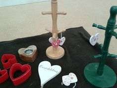 Flame: Creative Children's Ministry: Easter - hearts and balls to remember love and the stone that was rolled away