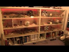 IKEA Expedit Hamster Cage Tutorial - 2. Cage Layout (+playlist)