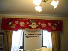 cenefas de cortinas navideñas - Buscar con Google