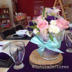 Diseño floral para baby shower de niña de la botica de las flores