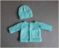 Little Babbity - Preemie Baby Cardigan Jacket pattern by marianna mel Marianna's Lazy Daisy Days: Little Babbity - Premature Baby Set Baby Cardigan Knitting Pattern Free, Baby Sweater Patterns, Knit Baby Sweaters, Baby Hats Knitting, Baby Knitting Patterns, Baby Patterns, Free Knitting, Crochet Patterns, Preemie Clothes