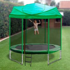 🏃 ☀ Oz Trampolines is widely recognised as Australia's leading trampoline store online. Outdoor Tables, Outdoor Decor, Backyard For Kids, Trampolines, Gazebo, Weather Conditions, Cool Things To Buy, Shelter