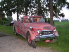 GMC 450 fire truck