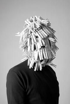 Akatre - All Portfolios - Feather Collector Creative Photography, Art Photography, Faceless Portrait, Hidden Identity, Masks Art, Peek A Boos, Art Plastique, Headgear, Oeuvre D'art