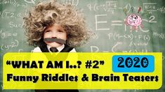WHAT AM I? #2 - FUNNY RIDDLES & BRAIN TEASERS || 2020 || ROCKCIMBERS Riddle Puzzles, What Am I Riddles, Funny Riddles, Fun Quizzes, Brain Teasers, The Creator, Mind Games, Funny Puzzles, Brain Games