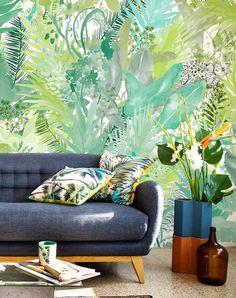 Mural Find Jaguar | telas & papel