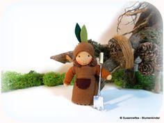 Keimling  Blumenkinder Jahreszeitentisch von Susannelfes Blumenkinder  auf DaWanda.com