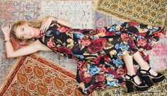 Blooming in love! Fashion-forward floral gown from Show Me Your Mumu!