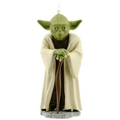 Hallmark Star Wars Yoda Holiday Ornament * Visit the image link more details.