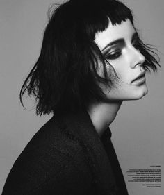Anna de Rijk by Benjamin Vnuk for Stockholm S/S/A/W Magazine