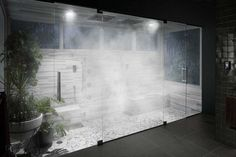 Create a Transformative Showering Experience – Whether you're looking to kick-start the day or unwind for the evening, Kohler offers a range of transformative showering solutions that achieve your ideal experience. Steam Room Shower, Steam Showers Bathroom, Bathroom Spa, Bathroom Mirrors, Bathroom Cabinets, Bathroom Ideas, Shower Ideas, Dream Shower, Spa Shower